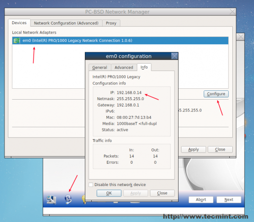 Check System IP Address