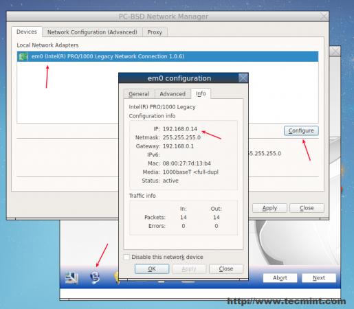 Check System IP Address