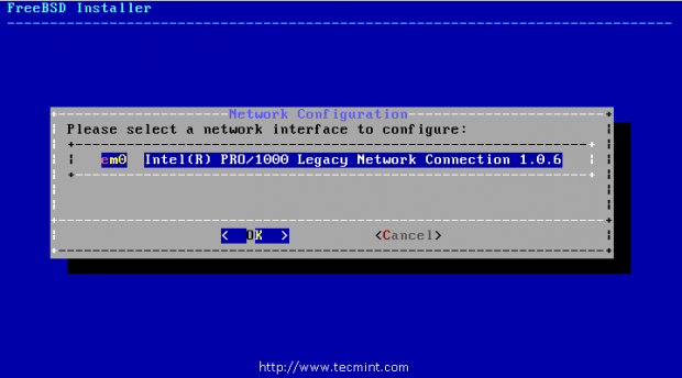 Configure Network Interfaces