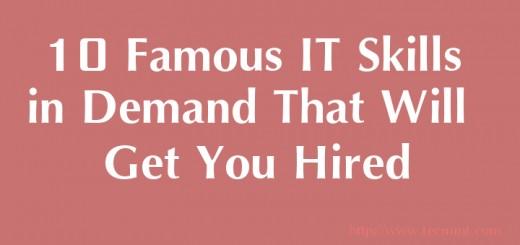 Famous IT Skills