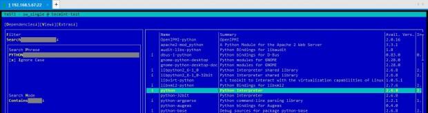 Install Python on Suse