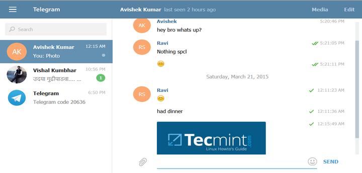 Install Telegram in Linux