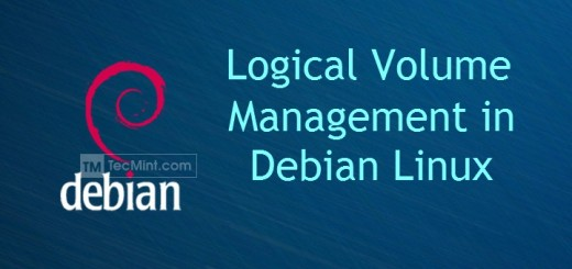 Install and Configure LVM on Debian
