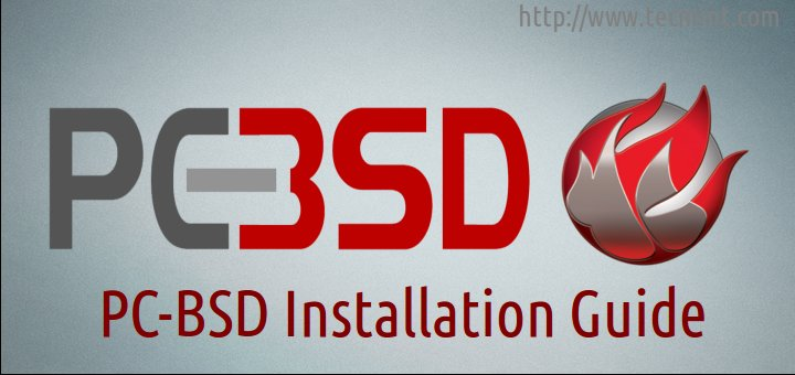 PC BSD Installation Guide