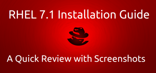 RHEL 7.1 Installation Guide