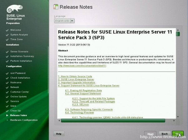 Suse Release Notes