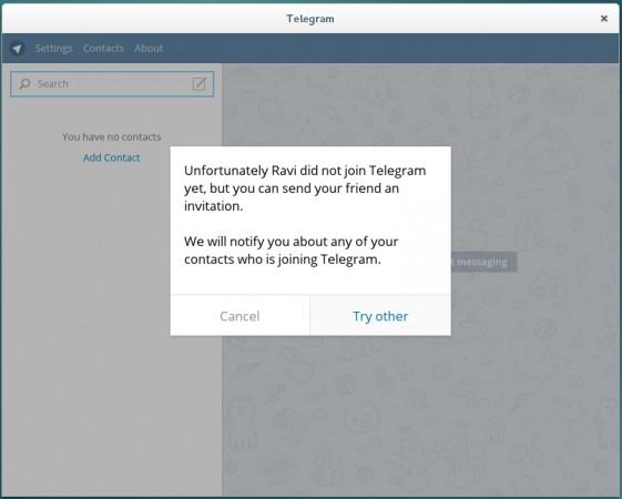 Telegram Contact Notification
