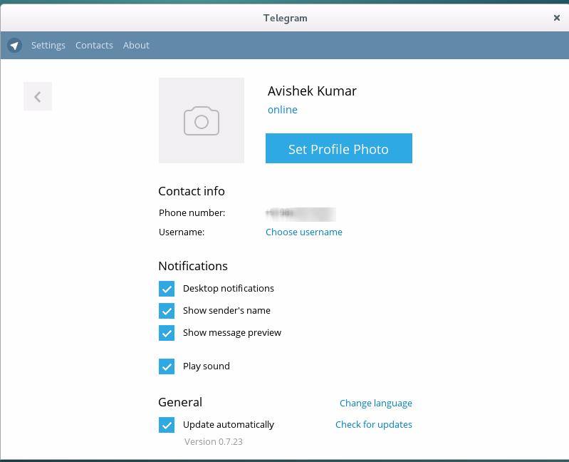 How To Install Telegram Messenger Application On Linux