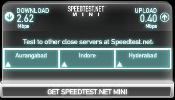 Test Internet Speed on Same Network