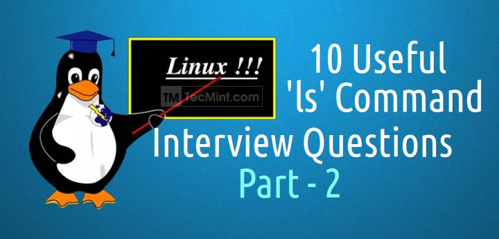 ls Command Interview Questions