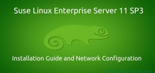 SUSE Linux Enterprise Server 11 SP3 Installation Guide