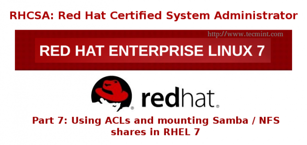 Configure ACL's and Mounting NFS / Samba Shares