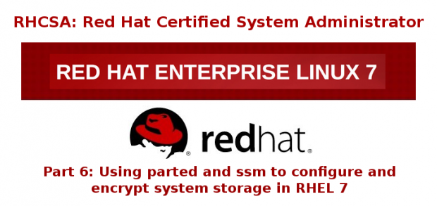 Configure and Encrypt System Storage