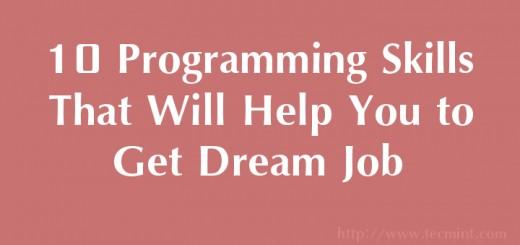 Famous IT Programming Skills