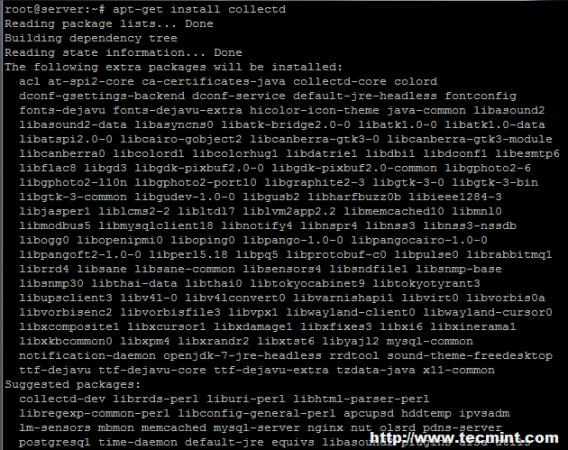 Install Collectd on Ubuntu