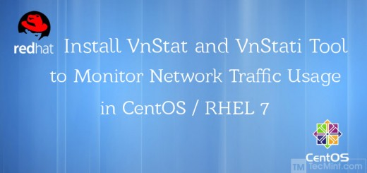 Install VnStat and VnStati Monitoring Tool