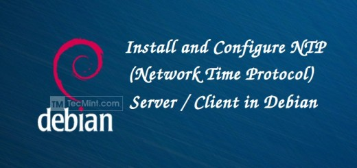 Install and Configure NTP in Debian