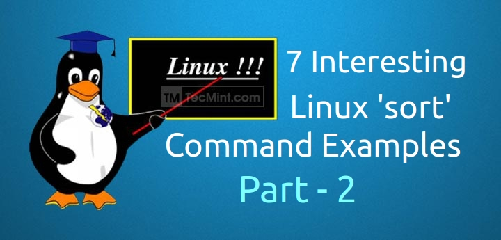 Linux sort command examples