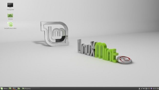 Linux Mint Desktop Screen