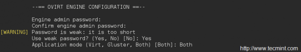 Ovirt Configuration