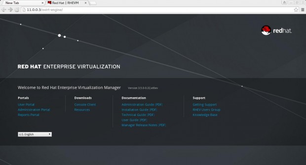 RedHat Enterprise Virtualization Manager