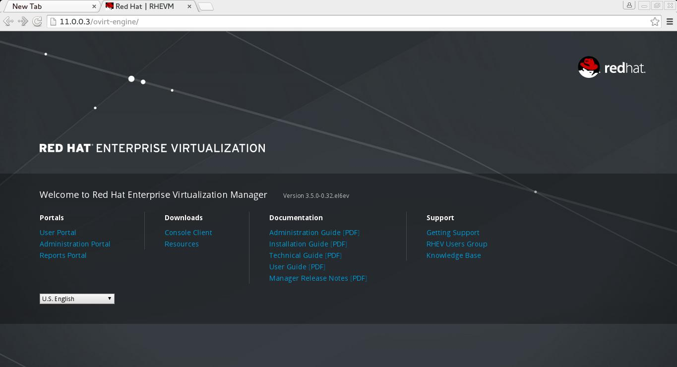 How to Install RedHat Enterprise Virtualization (RHEV) 3 5 - Part 1