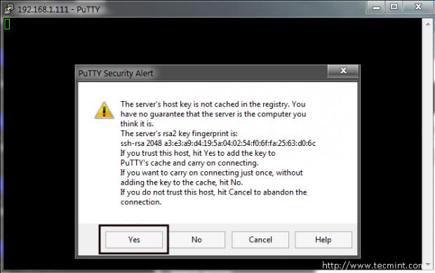 SSH to NethServer