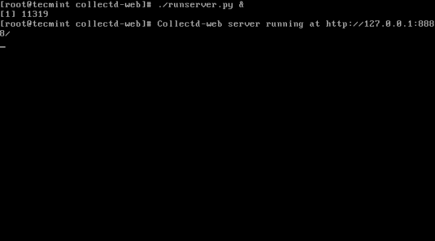 Start Collect-Web Server