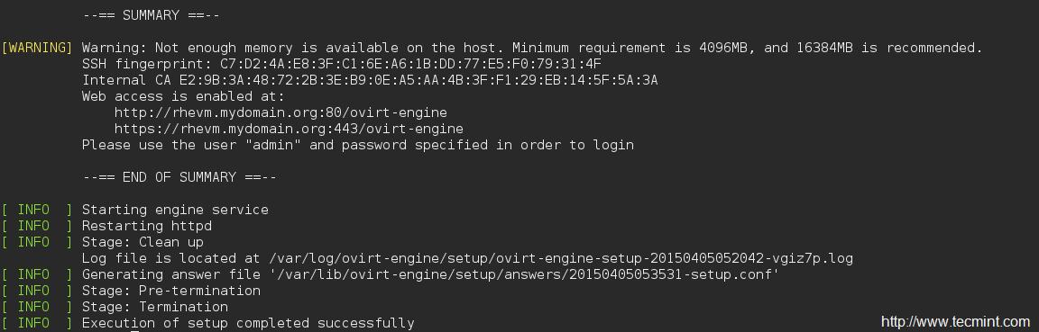 How to Install RedHat Enterprise Virtualization (RHEV) 3 5