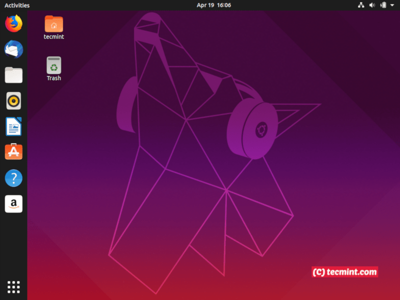 Installation of Ubuntu 19 04 (Disco Dingo) Desktop on UEFI Firmware