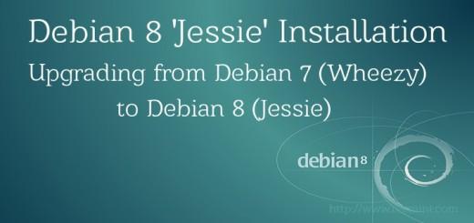 Debian 8 Jessie Installation Guide