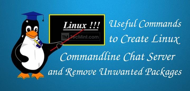 Linux Commandline Chat Server
