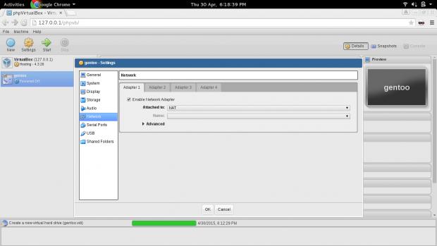 Select VM Network Adapter