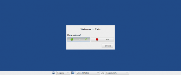 Tails Welcome Screen