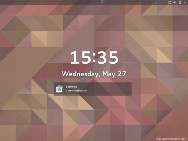 Fedora Screen Saver