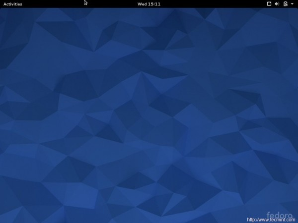 Fedora 22 Desktop