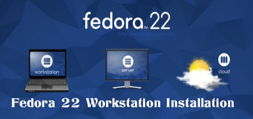 Fedora 22 Workstation Installation