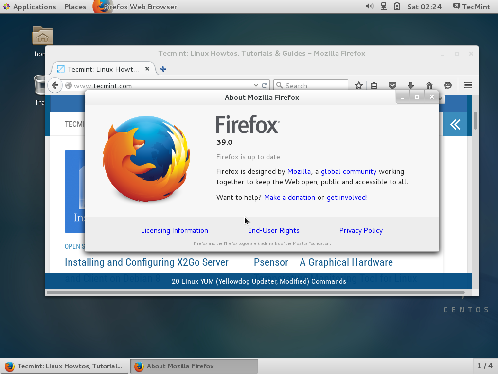 Install Firefox... Install Firefox