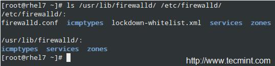 FirewallD Configuration
