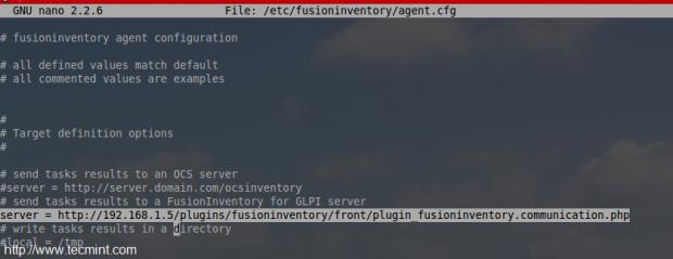 Add Fusion Server IP