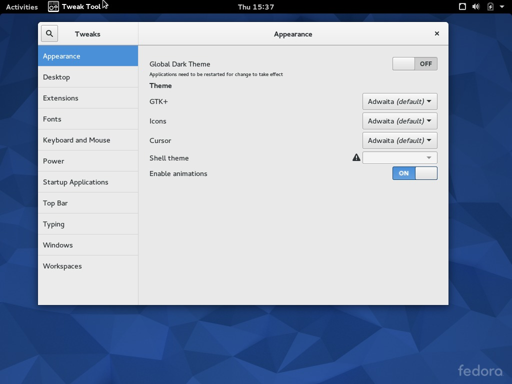 13 Useful Things to Do After Fedora 22 Workstation Installation