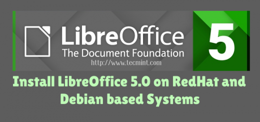 Install LibreOffice 5.0 in Linux