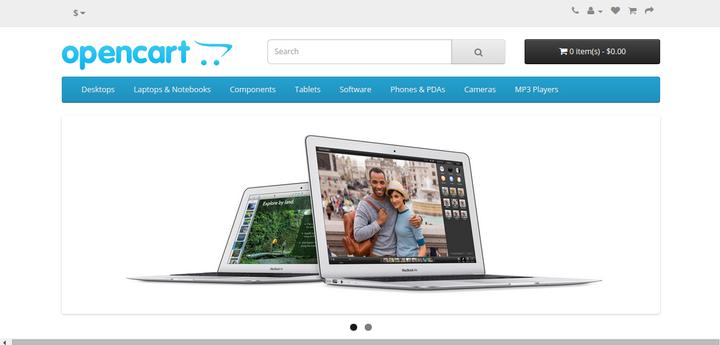 Setup Online Shopping Store Using OpenCart