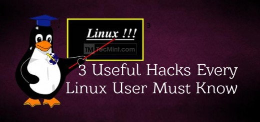 Useful Linux Hacks and Tips