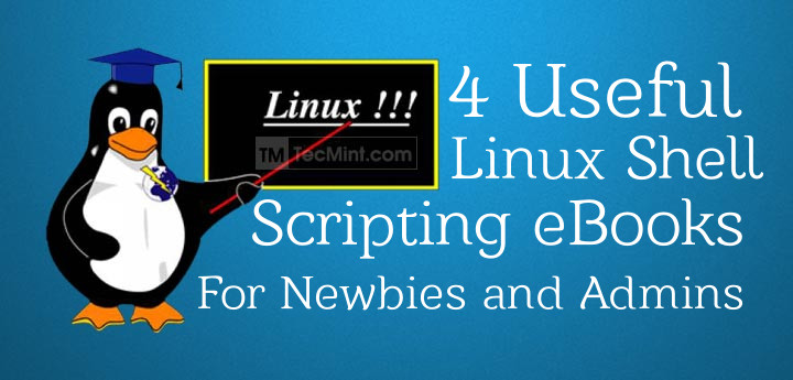 4 free shell scripting ebooks for linux newbies and