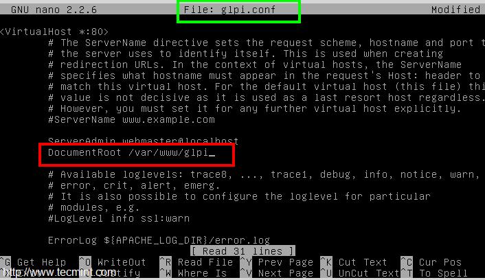 glpi linux