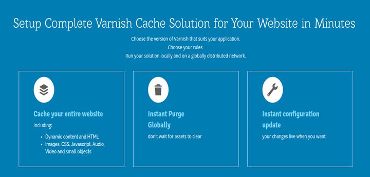 Section.io Varnish Cache Solution