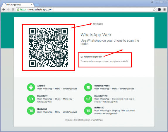 Web Whatsapp Browser
