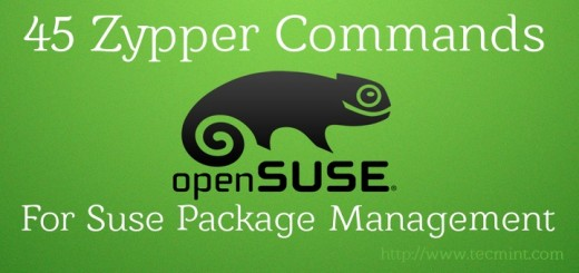 Suse Linux Package Management with Zypper