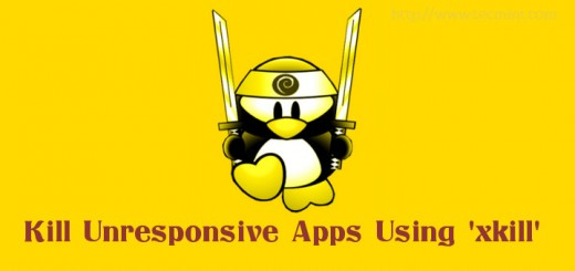 Kill Linux Processes and Unresponsive Apps Using xkill